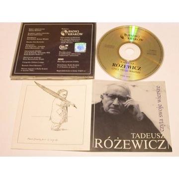 Tadeusz Różewicz czyta swoje wiersze