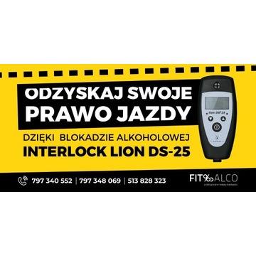Blokada alkoholowa Lion DS-25 RS - nowy model