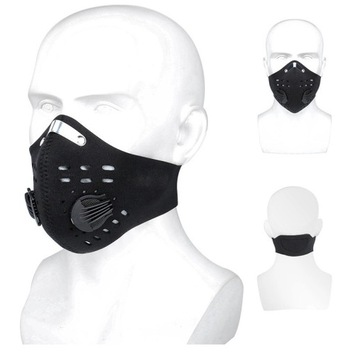 Maska z filtrem sportowa