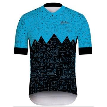 Koszulka rowerowa, kolarska rozmiar: L