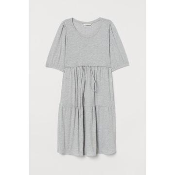 H&M mama Bawełniana sukienka 38 M