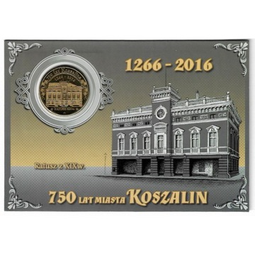 750 lat Koszalina - złoty szeląg