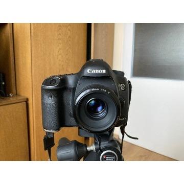 Canon 5D Mark III + Canon 50mm f 1.8 II