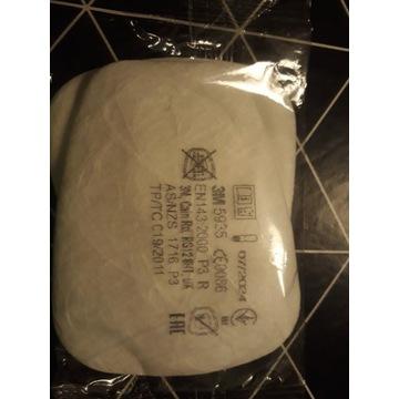 Filtry przeciwpylowe 3M 5935 P3 cena za 2szt