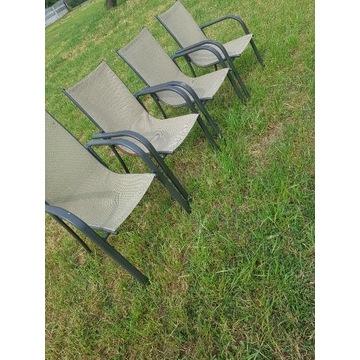 Krzesła krzesło ogrodowe z materiałem peroni