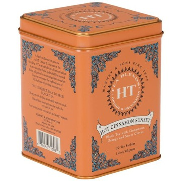 Herbata Harney&Sons Hot Cinnamon Sunset 20 szt