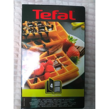 Płyty tefal snack collection Gofry