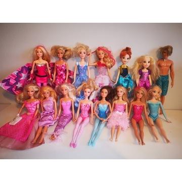 Lalki Barbie cena 380 zł za całość lub 35 zł sztuk