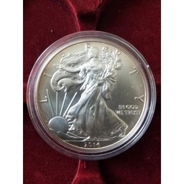 Liberty srebrna moneta USA 1 uncja srebra