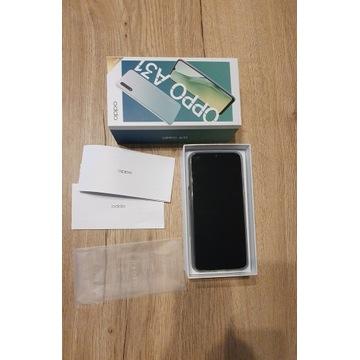 Telefon smartfon OPPO A31 czarny Komplet + etui