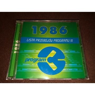 LISTA PRZEBOJÓW PROGRAMU III 1986