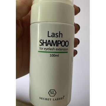 SECRET LASHES szampon przedłużane rzęsy HIT!