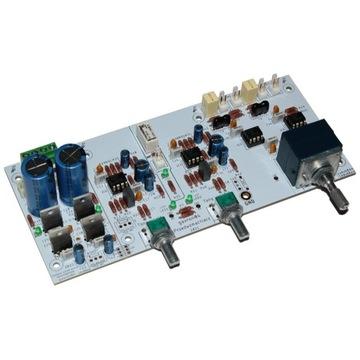 PCB przedwzmacniacz z barwa dźwięku E450