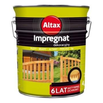ALTAX  IMPREGNAT DEKORACYJNY 4.5 Orzech