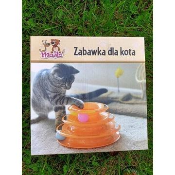 Zabawka dla kota, tor z kulkami