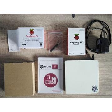 Raspberry Pi 3B, WD PiDrive 375GB, WD Case, UNIKAT