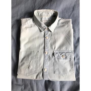 Męska koszula Jack&Jones Denmark jeansowa cienka