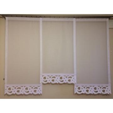 Panel - dekoracja okienna Ażury - Zawijasy