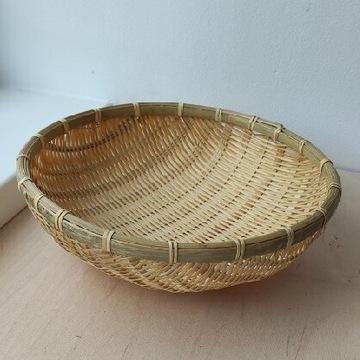 Koszyk bambusowy duży na owoce warzywa pieczywo