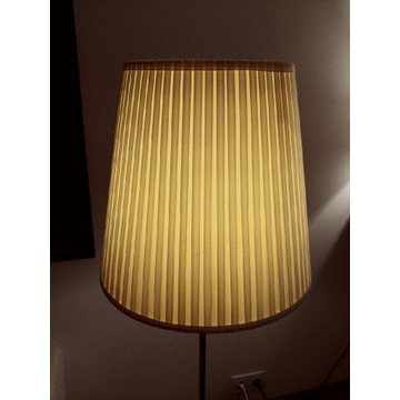 lampa stojaca IKEA 142cm wykonana ze stali stan bd