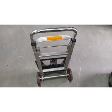 Wózek magazynowy transportowy składany aluminiowy