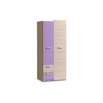 Komplet mebli lorento dolmar jesion/fiolet + lustr