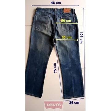 LEVIS 607 W36 L34