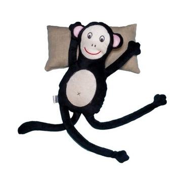 Małpka pluszowa maskotka handmade z personalizacją