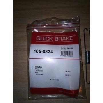 Sprężyny hamulcowe QUICK BRAKE 105-0824