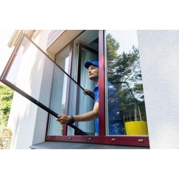 Moskitiera na okno aluminiowa gotowa HIT