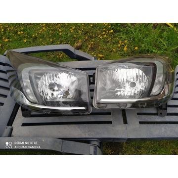 Lampy Opel Vivaro B