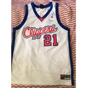 Koszulka Clippers, Miles, NBA, Nike, używana