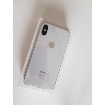 Telefon firmy Apple iPhone X 256gb biały