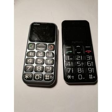 Dwa telefony myPhone uszkodzone