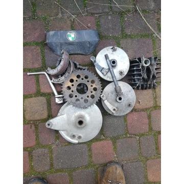 Motocykl Puch głowica, bębny części