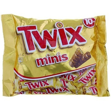 Twix Mini 10 sztuk   227 gramów
