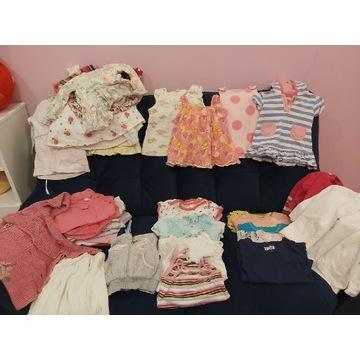 Ubranka dla dziewczynki/Paka roz  od 74cm do 92cm