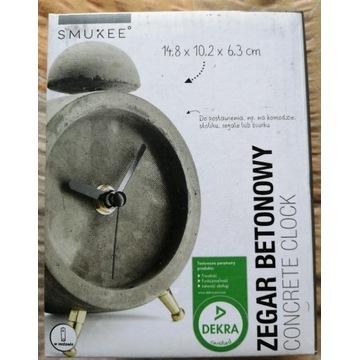 Zegarek betonowy licytacja