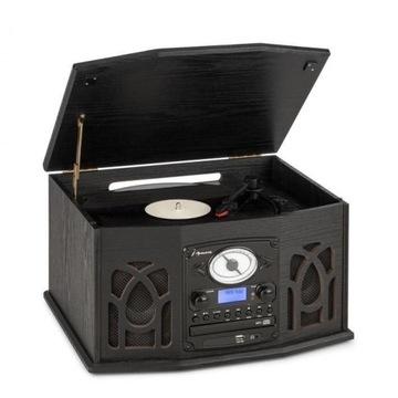 NR-620 DAB, wieża stereo, gramofon, DAB+