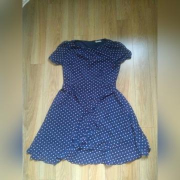 Sukienka w groszki L/XL