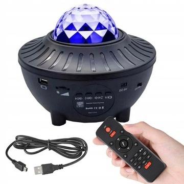 Projektor Gwiazd Star LED -Głośnik Bluetooth Ocean