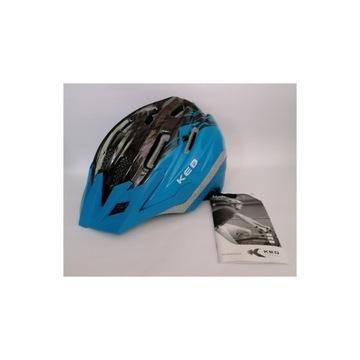 Kask dziecięcy rowerowy KED DERA 52-58 cm M/L