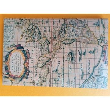 Notes Teleadresowy Skorowidz  Adresownik B6 Mapa