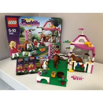 LEGO 7585 Belville - Stajnia Stadnina jak nowe ko