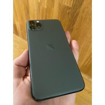 iPhone 11 Pro Max 512 GB - midnight Green, nowy