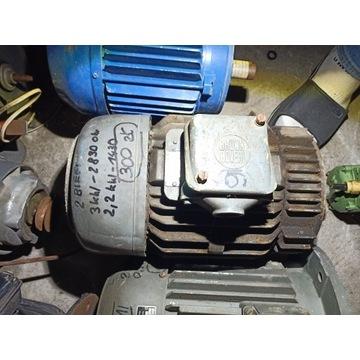 SILNIK ELEKTRYCZNY 3 KW 2800/MIN /2,2kW 1400MIN