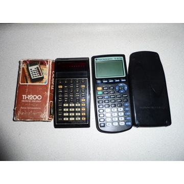 Kalkulatory TEXAS INSTRUMENTS.