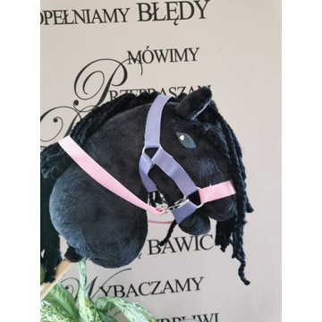 Koń Hobby Horse na kijku - Black Beauty
