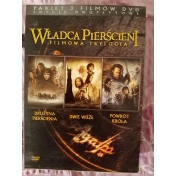 Władca pierścieni filmowa trylogia pakiet 6 dvd