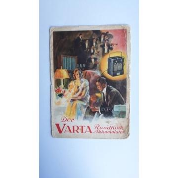 Der WARTA  Rundfunk Akkumulator .